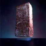 A bit of aerogel can support a brick.