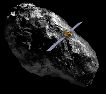 Deep Space 1 visits asteroid