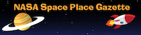 Space Place gazette header