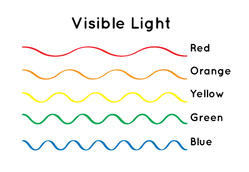 Diffe Colors Of Light Have Wavelengths