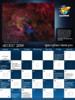 Click for August 2014 calendar page.