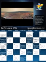 Click for December 2014 calendar page.