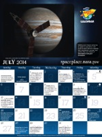 Click for July 2014 calendar page.