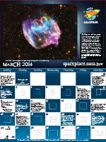 Thumbnail image of March calendar.