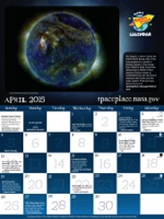 Thumbnail image of April calendar.