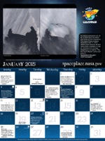 Thumbnail image of January calendar.