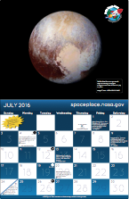 Thumbnail image of July calendar.