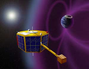 ST5 spacecraft artist's concept