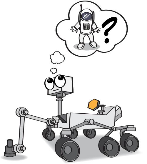 mars rover cartoon - photo #6