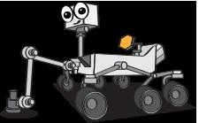 mars rover cartoon - photo #36