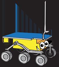 mars rover cartoon - photo #12