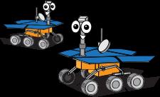 mars rover cartoon - photo #22