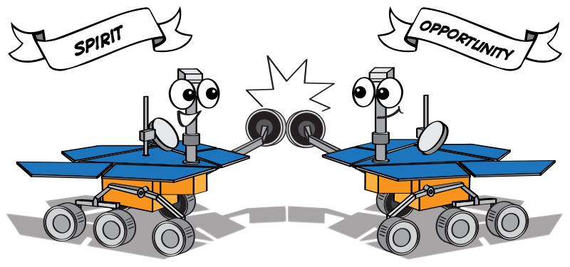 mars rover cartoon - photo #9