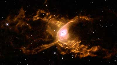 The Red Spider planetary nebula.