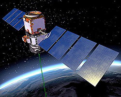 Artist's rendering of the CALIPSO satellite.