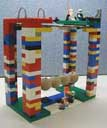 Newtonian Physics Machine from Lego Bricks.