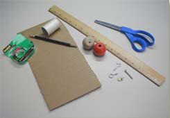 Materiales y provisiones necesarios.