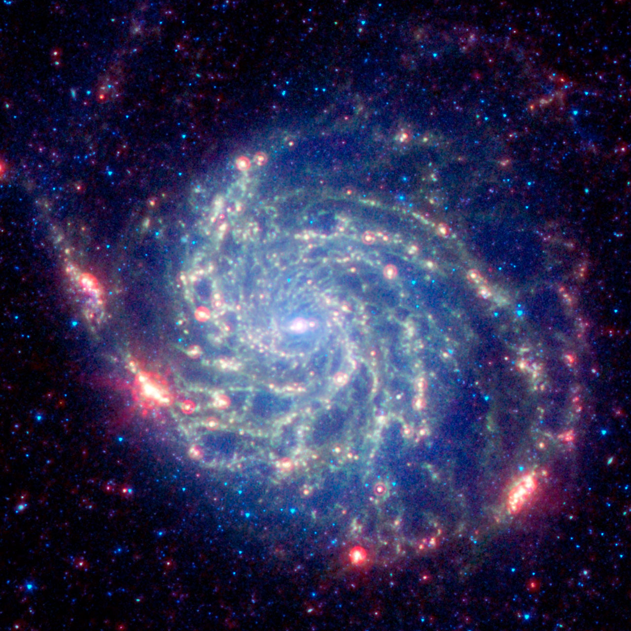 Make a Pinwheel Galaxy pinwheel :: NASA Space Place