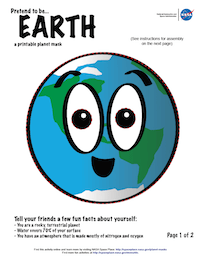 thumbnail image of first page of Earth planet mask activity