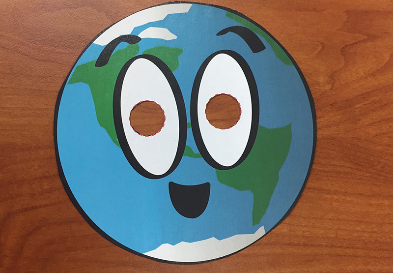 make a planet mask nasa space place