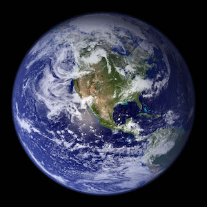 an image of the whole Earth