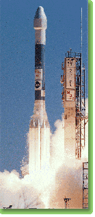 Launch of Delta rocket