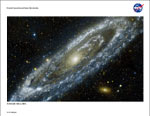 Small image of M31 Andromeda Galaxy litho