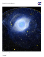 Small image of Helix Nebula litho