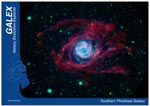 Small image of postcard Southern Pinwheel Galaxy.