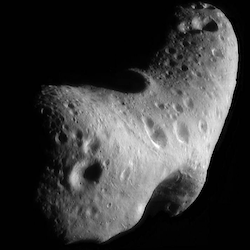 image of asteroid Eros