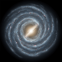 Illustration of our galaxy, the Milky Way. Credit: NASA/JPL