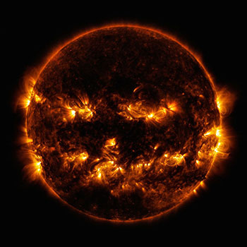Picture of our Sun in October 2014.