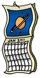 Similar Item 1 : The Space Place Calendar