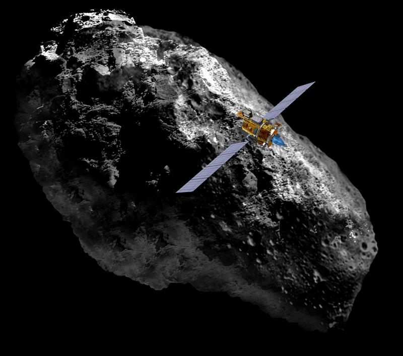 spacecraft landing on asteroid - photo #3