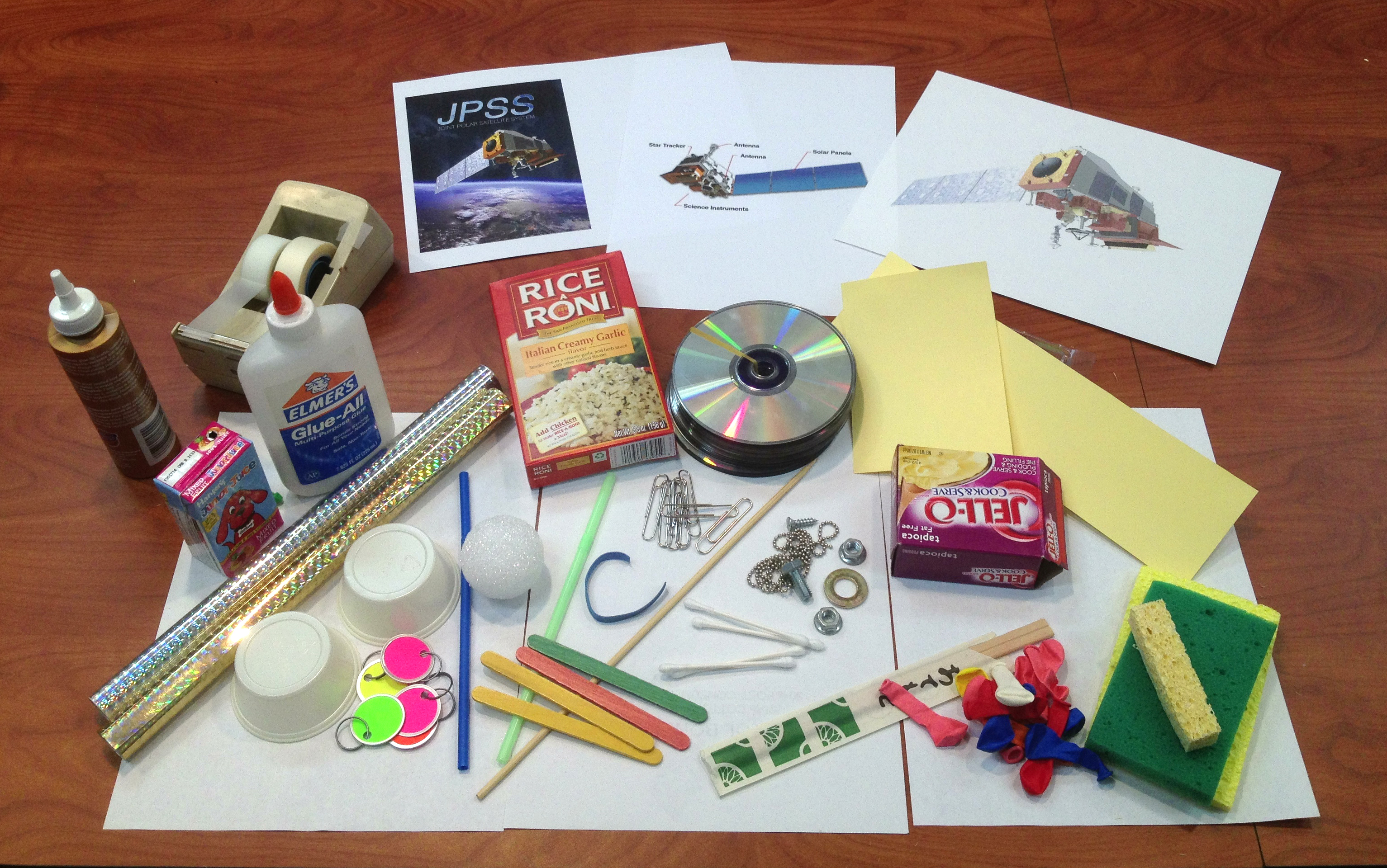 build your own spacecraft nasa space place