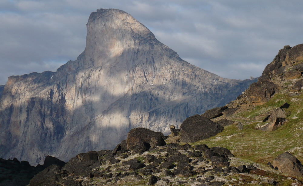 Photo of Mt Thor.
