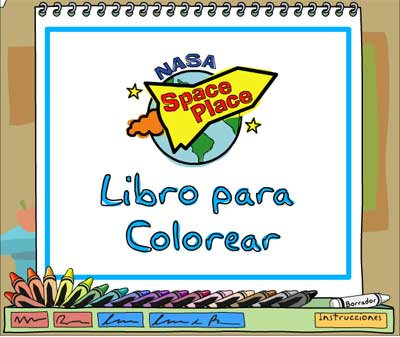 Coloring Book :: NASA Space Place