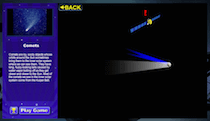 a screenshot of the Explore the Solar System game
