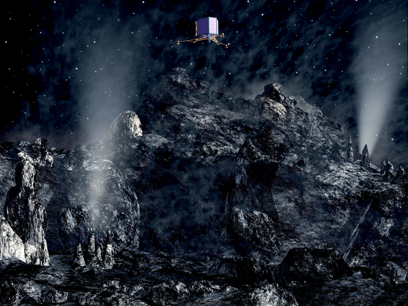 Find the hidden comet words :: NASA Space Place
