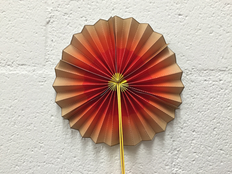 a photo of the Earth fan described in this activity