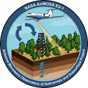 the AirMOSS mission logo
