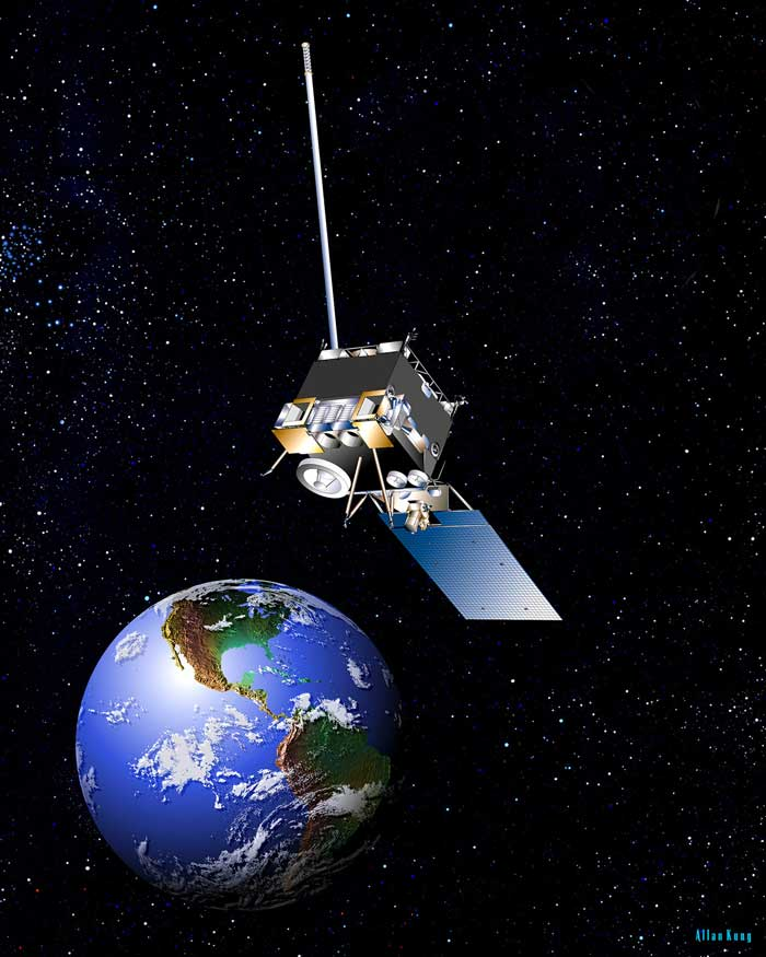 Orbits r us nasa space place goes watches over north americas weather freerunsca Images