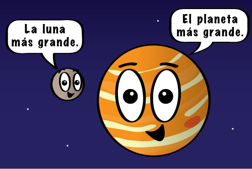 How many moons nasa space place for Que luna tenemos hoy