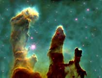 The Eagle Nebula.