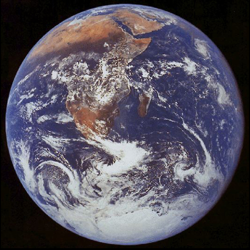 Full sphere image of Earth