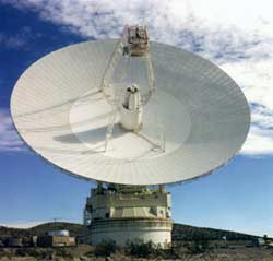 70-meter Deep space Network Antenna