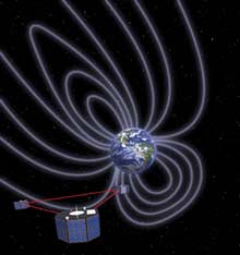Three satellites will study Earth's magnetic field.