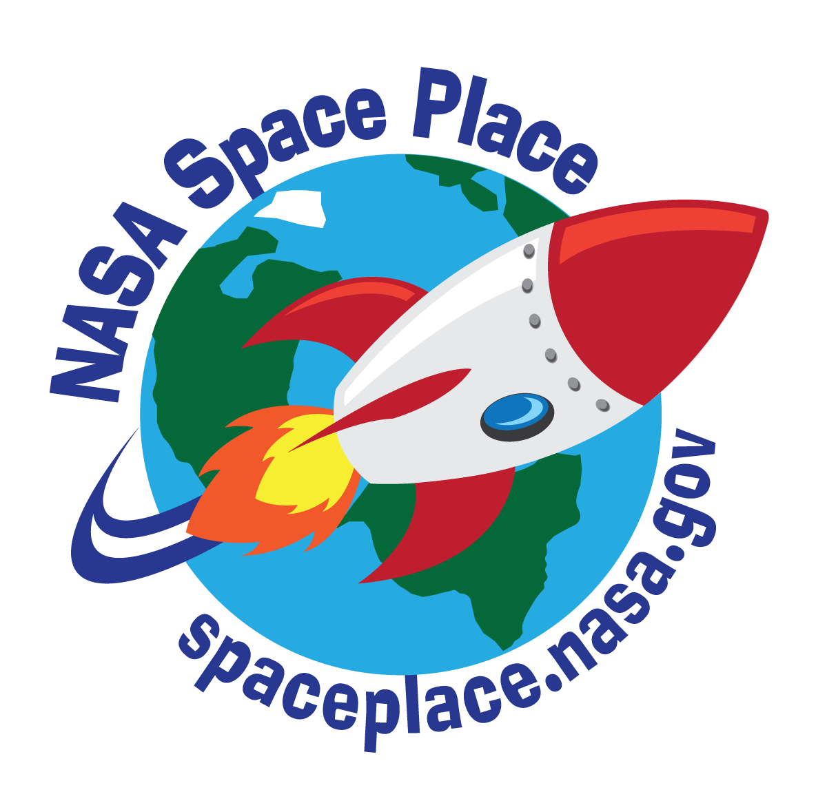 Space Place logo, high resolution version. Click here to download.