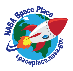 Space Place logo. Click here to download 1-inch version.