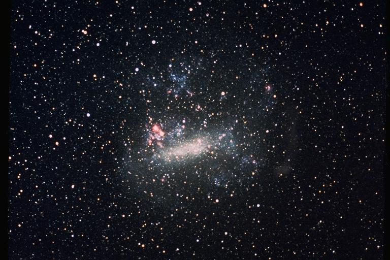 imagen de la Gran Nube de Magallanes